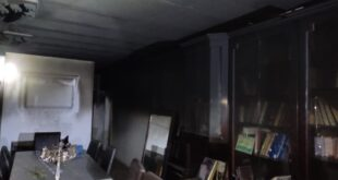 שריפה בדירה בקריית מלאכי