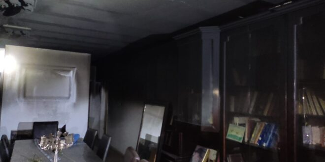 שריפה פרצה בדירת מגורים בקריית מלאכי