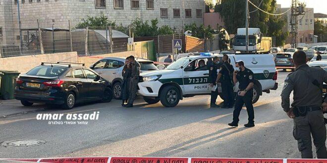 גבר נורה סמוך לתחנת הדלק בכפר קאסם, מצבו קשה