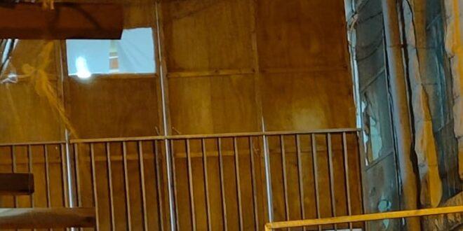 רצפת סוכה בגובה של שני מטרים קרסה במאה שערים, ארבעה נפצעו קל