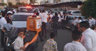 רוכב אופניים בן 15 נפצע בינוני מפגיעת אופנוע ברחוב אור לציון בנתיבות