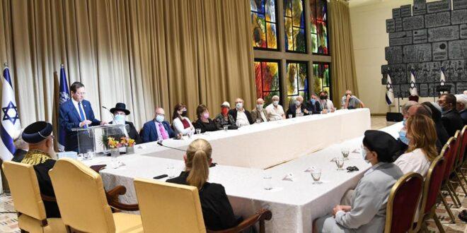 אירוע לימוד להושענא רבה בסימן 200 שנה לפטירת הרב רפאל בירדוגו נערך בבית הנשיא