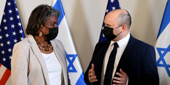 """רה""""מ נפגש עם שגרירת ארה""""ב באו""""ם: """"הרוח החדשה בין אמריקה לישראל יכולה להניב פירות"""""""