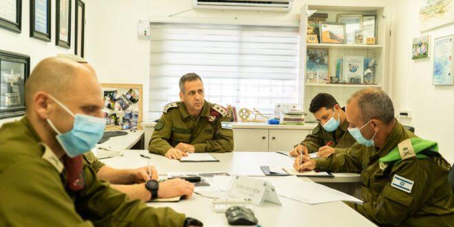 """הרמטכ""""ל כוכבי על ההיתקלות הלילית בשומרון: """"סוכלו נסיונות פיגוע בישראל"""""""