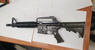 במהלך חיפוש יזום של בלשי תחנת אום אל פחם אותר נשק מסוג M-16, לצד מחסני...