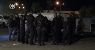 משעות הבוקר פעלו כוחות משטרה גדולים נגד גורמי פשיעה בפזורה הבדואית ובב...