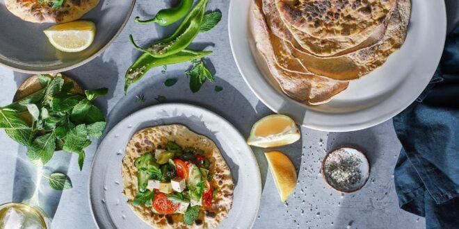 צמחוני בריא: מתכון לטורטיה עם ירקות וטופו – מועשר בחלבון!