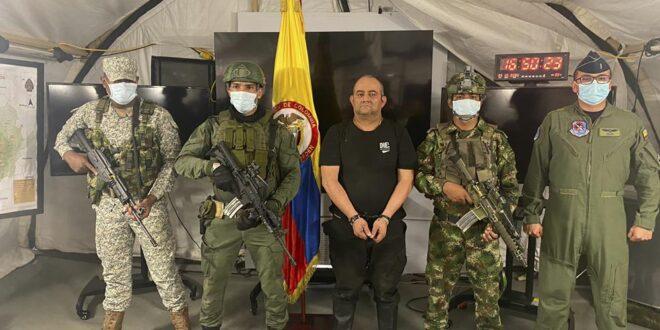 """""""כמו לתפוס את אסקובר"""": מנהיג קרטל הסמים הגדול בקולומביה נתפס"""