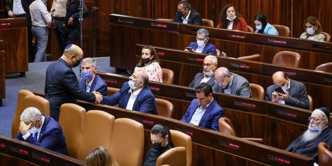 מליאת הכנסת דחתה את כל הצעות אי האמון שהגישו סיעות האופוזיציה