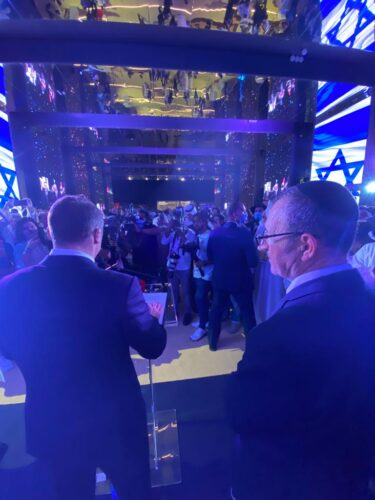 הביתן הישראלי באקספו דובאי נחנך רשמית במעמד שר התיירות