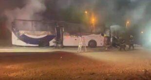 שתי שריפות פרצו בו זמנית ברמלה, לא דווח על נפגעים