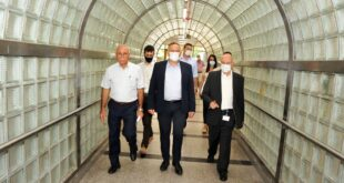 שר הבריאות ביקר במרכז הרפואי לגליל