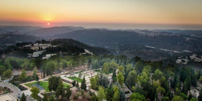 הושלם השלב הראשון בפרויקט שדרוג והרחבת חלקת גדולי האומה בהר הרצל
