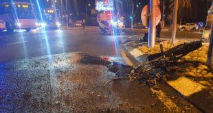 רוכב אופניים חשמליים בן 18 נהרג מפגיעת רכב בקריית מוצקין
