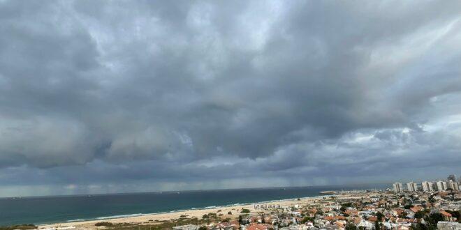 תחזית מזג האוויר: התקררות עם גשם מקומי בצפון ובחוף