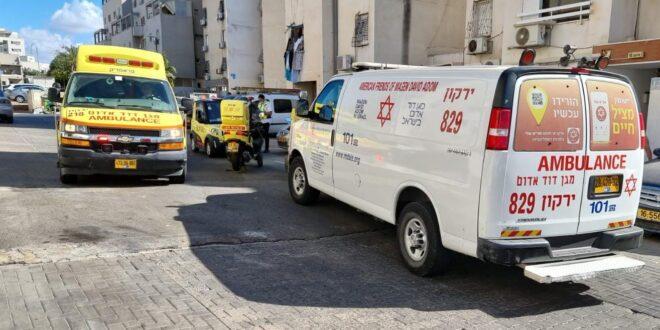 גבר בן 62 נפצע בינוני באירוע אלימות בתל אביב