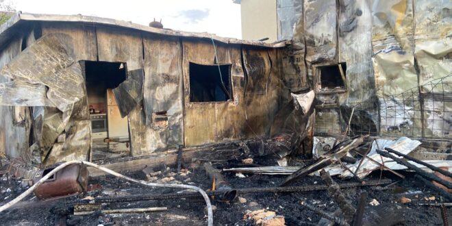 שריפה פרצה בבית בגוש עציון – אב המשפחה חילץ את אשתו וארבעת ילדיו