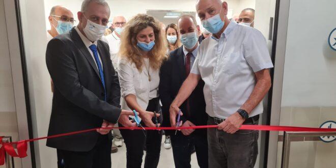 נחמן אש השתתף בטקס חנוכת המכון ההמטולוגי החדש במרכז הרפואי בני ציון