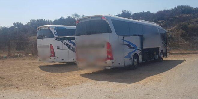 נעצרו ארבעה אוטובוסים ובתוכם כ-200 שוהים שהיו בדרכם לירושלים