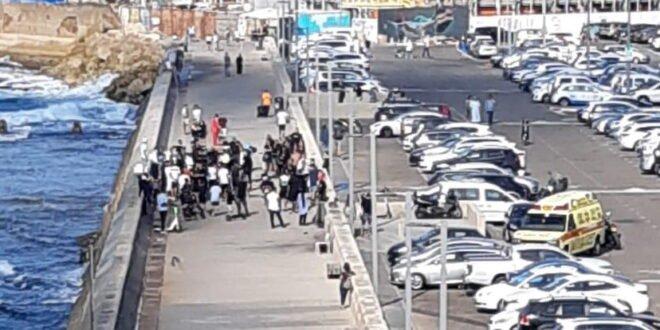 גבר בן 40 נפצע אנוש מירי בנמל יפו, המשטרה פתחה בחקירה