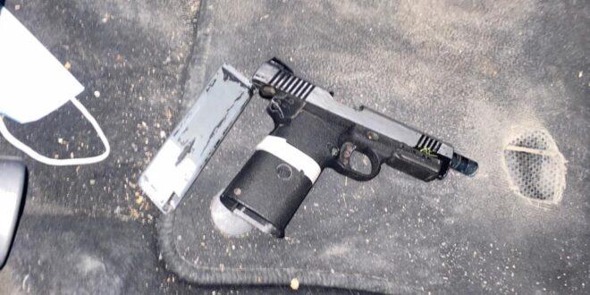 תושב ג'סר א זרקא נעצר בחשד להחזקה ושימוש לא חוקי בנשק