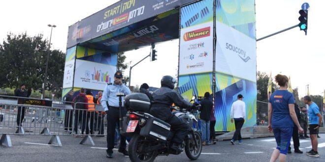 לקראת מרתון ירושלים: מאות שוטרים יתפרסו בבירה, יחולו הסדרי תנועה חלופיים