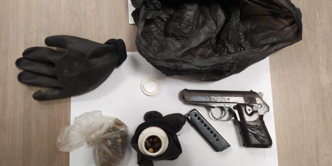 נשק ותחמושת אותרו סמוך לכפר ירכא, תושב הכפר נעצר בחשד להחזקתם
