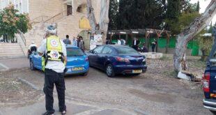 מספר מתפללים נפגעו מגז מדמיע שהותז לתוך בית הכנסת בו התפללו בפתח תקווה