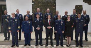 """נשיא המדינה אירח מפקדי חילות אוויר ממדינות שונות במסגרת תרגיל """"דגל כחול"""""""