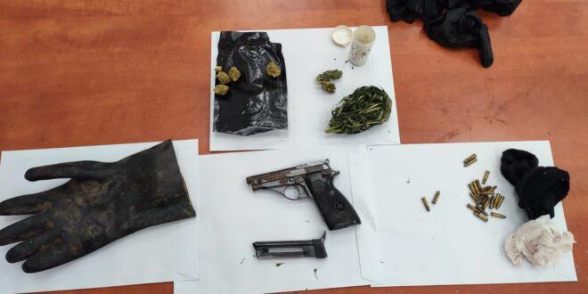 המשטרה איתרה כלי נשק ותחמושת בחיפושים במתחמי מגורים בלוד ורמלה