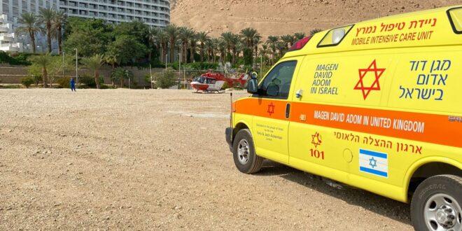 נקבע מותה של האישה בת ה- 60 שטבעה בים המלח