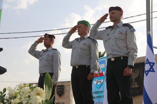 תת אלוף אבי בלוט נכנס לתפקיד מפקד אוגדת אזור יהודה ושומרון